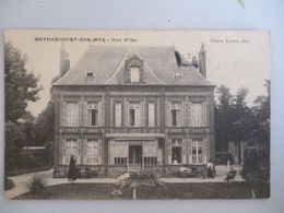 Bethencourt Sur Mer   Une Villa - France