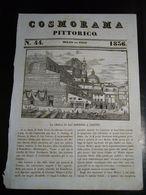 1836  LA CHIESA DI SAN LORENZO A FIRENZE  XILOGRAFIA ORIGINALE TRATTA DA COSMORAMA PITTORICO - Vieux Papiers