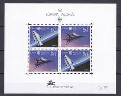 Europa-CEPT - Portugal - Azoren - 1991 - Michel Nr. Block 12 - Postfrisch - 1991