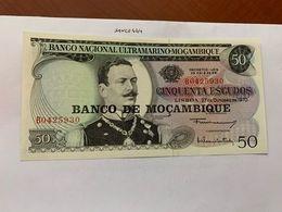 Mozambique 50 Escudos Banknote 1970 #3 - Mozambique
