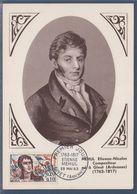 Etienne-Nicolas Mehul Compositeur Carte 1er Jour Givet (Ardennes) 25.5.63 N°1371 - Maximumkaarten