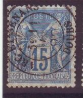 Arc Et Senans Doubs Obl Type 18 - 1877-1920: Semi-Moderne
