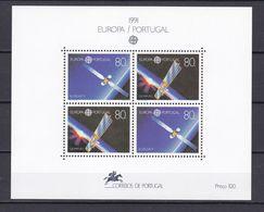 Europa-CEPT - Portugal - 1991 - Michel Nr. Block 78 - Postfrisch - 1991