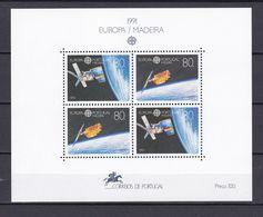 Europa-CEPT - Portugal - Madeira - 1991 - Michel Nr. Block 12 - Postfrisch - 1991