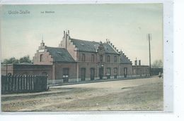 Uccle Stalle Station ( Carte Colorisée ) - Uccle - Ukkel