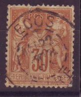Ecos Eure Obl Type 84 - 1877-1920: Semi-Moderne