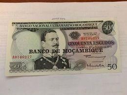 Mozambique 50 Escudos Banknote 1970 #1 - Mozambique