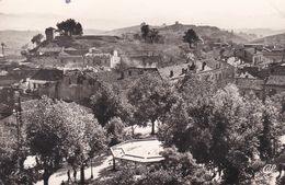 Cpsm 9x14 . ALGERIE .SOUK-AHRAS . Vue Sur La Place Thagaste - Souk Ahras