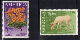 Uruguay 1990.  America. Flora. Fauna.  MNH** - Uruguay