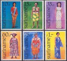 Suriname 1977, Traditional Clothes, MNH Stamps Set - Surinam