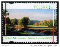 POLAND 2013 Murzakowski Park World Heritage UNESCO Joint Issue With Germany Post MNH** - Protection De L'environnement & Climat