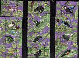 Suriname 2018, Birds, Ten MNH Blos - Surinam