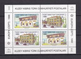Europa-CEPT - Türkisch-Zypern - 1990 - Michel Nr. Block 8 - Postfrisch - 20 Euro - Europa-CEPT