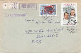 LETTONIE  URSS :  Lettre Recommandée De Riga Pour L'Allemagne De L'Est - Lettonie