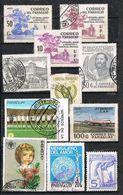 36968. Lote 19 Sellos PARAGUAY Diferentes, Varias Epocas º - Uruguay