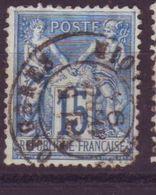 Orgères Eure Et Loire Obl Type 18 - 1877-1920: Semi-Moderne