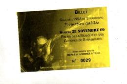 Ticket Soiree Insa Strasbourg  Galilée - Toegangskaarten