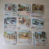 CHROMO Liebig - Lot Collection - 9 Sets Complets - 54 Cards - La Soie , Le Pain , ... - Liebig