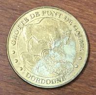 24 GROTTE DE FONT DE GAUME MEDAILLE TOURISTIQUE MONNAIE DE PARIS 2007 JETON MEDALS COINS TOKENS - 2007