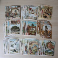 CHROMO Liebig - Lot Collection - 9 Sets Complets - 54 Cards - Rochers , L'Australie , ... - Liebig