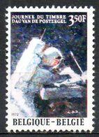 BELGIQUE. N°1622 De 1972 Oblitéré. Journée Du Timbre/Astronaute. - Tag Der Briefmarke