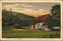 Bielefeld Umland-Ansicht Hünenburg & Lokalität Julius Grebe 1914 - Bielefeld