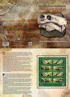 Russia 2020 Paleontological Heritage Of Russia Fossils Sheetlet  TYPE II In Presentation Pack MNH - Stamps