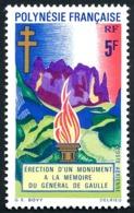POLYNESIE 1971 - Yv. PA 46 ** SUP  Cote= 10,20 EUR - Monument Général De Gaulle  ..Réf.POL25145 - Oblitérés