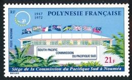 POLYNESIE 1972 - Yv. PA 62 **   Cote= 17,00 EUR - Commission Du Pacifique-Sud, Nouméa  ..Réf.POL25152 - Oblitérés
