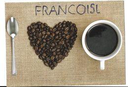 Lot De 2 Images Publicitaires Pour Le Café. - Vieux Papiers