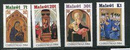 Malawi ** N° 440 à 443 - Noël. Tableaux - Christmas