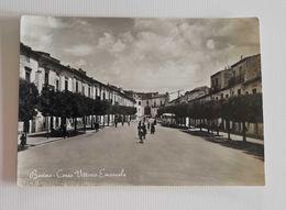 Cartolina Illustrata Bovino - Corso Vittorio Emanuele, Per Forlì Anni '50 - Italia