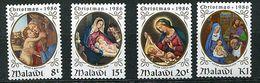 Malawi ** N° 485 à 488 - Noël. Tableaux - Christmas