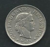 Suisse  10 RAPPEN 1945 ZWITSERLAND   PIA  23602 - Suisse