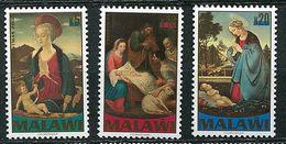 Malawi ** N° 702 à 704  - Noël. Détail De Tableaux - Christmas