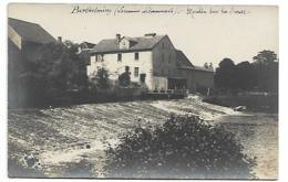 BERTHELMING - Moulin Sur La SAAR (Carte Photo Rare) - Otros Municipios