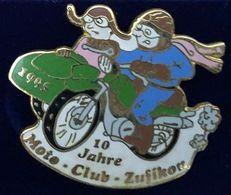 MOTO - 10 JAHRE - MOTO CLUB ZUFIKEN - 1995 - SUISSE - SCHWEIZ - SVIZZERA - SUIZA - SIDE CAR - SWITZERLAND - 10 ANS -(26) - Motorfietsen