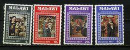 Malawi ** N° 295 à 298 - Noël. Tableaux - Christmas