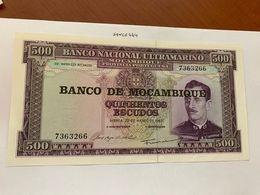 Mozambique 500 Escudos Uncirc. Banknote 1967 #2 - Mozambique