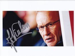 AUTOGRAPHE ORIGINAL ENTRAINEUR FRANCAIS DE 1997 A .... / JEAN MARC FURLAN / A.J.AUXERRE LIGUE 2 - Autografi