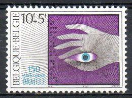 BELGIQUE. N°1782 Sans Gomme De 1985. Braille. - Handicap