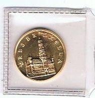 België 1979 Medaille Goud Gold Or 1000jaar Brussel Zeer Prachtig - Jetons De Communes