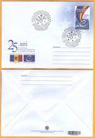 2020 Moldova  Moldavia 25 FDC Council Of Europe. European Ideas - Europäischer Gedanke