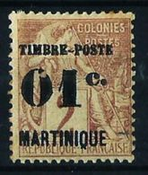 Martinica (Francesa) Nº 26 Nuevo* Cat.13€ - Martinique (1886-1947)
