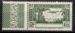 Timbre Poste Aérienne AOF De 1940 Sans Légende Neuf ** MNH. B/TB. A Saisir! - Frankreich (alte Kolonien Und Herrschaften)