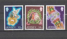 1986   N° 387 à 389     NEUF**      CATALOGUE  YVERT&TELLIER - Jersey