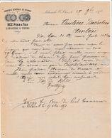 Ariège - La Bastide Sur L'Hers - Bez Père Et Fils - Fabrique De Peignes En Corne - 1871 - France