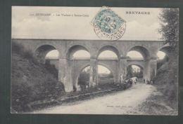 CPA - 22 - Guingamp- Les Viaducs à Sainte-Croix - Guingamp