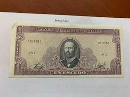 Chile 1 Escudo Uncirc. Banknote 1964 - Cile