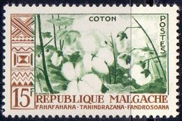 MADAGASCAR -  COTON  - **MNH - 1960 - Landwirtschaft